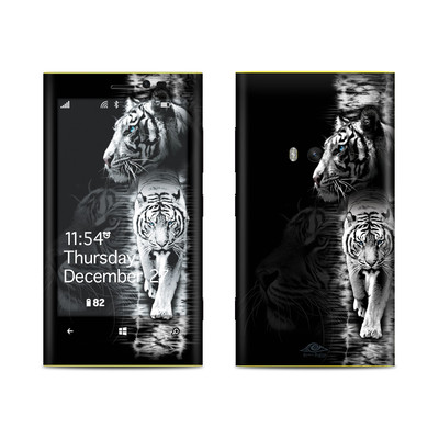 Nokia Lumia 920 Skin - White Tiger