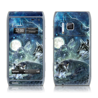 Nokia N8 Skin - Bark At The Moon