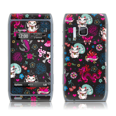 Nokia N8 Skin - Geisha Kitty