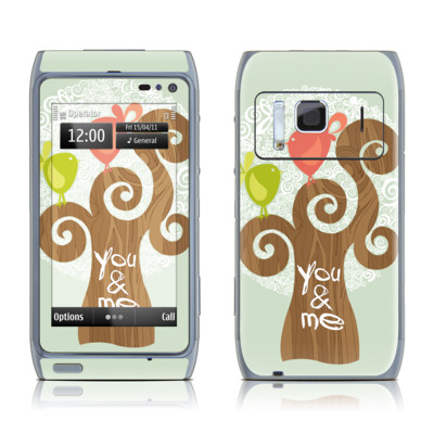 Nokia N8 Skin - Two Little Birds