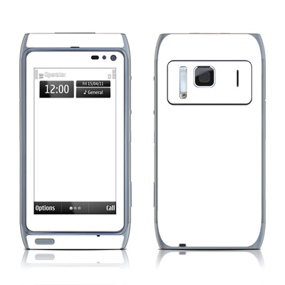 Nokia N8 Skin - Solid State White