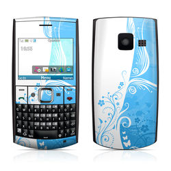 Nokia X2-01 Skin - Blue Crush