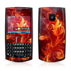 Nokia X2-01 Skin - Flower Of Fire