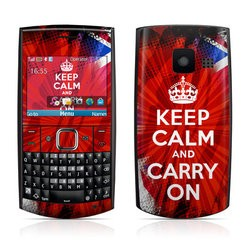 Nokia X2-01 Skin - Keep Calm - Burst