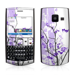 Nokia X2-01 Skin - Violet Tranquility