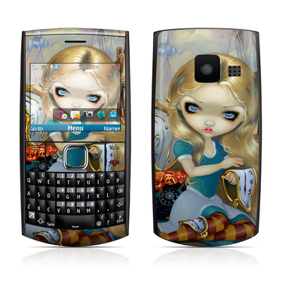 Nokia X2-01 Skin - Alice in a Dali Dream