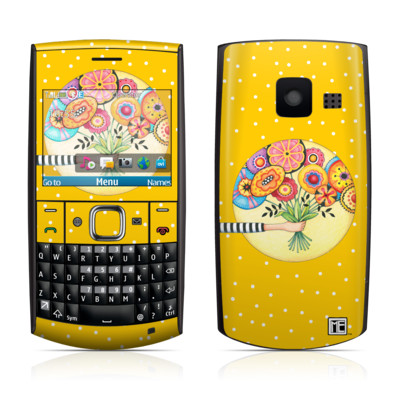 Nokia X2-01 Skin - Giving