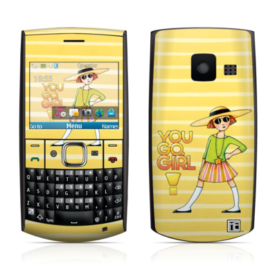Nokia X2-01 Skin - You Go Girl