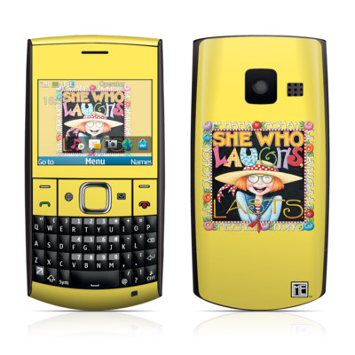 Nokia X2-01 Skin - She Who Laughs