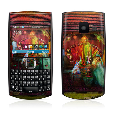 Nokia X2-01 Skin - A Mad Tea Party