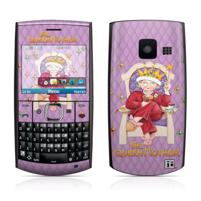 Nokia X2-01 Skin - Queen Mother