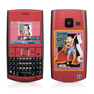 Nokia X2-01 Skin - Queen Has Spoken