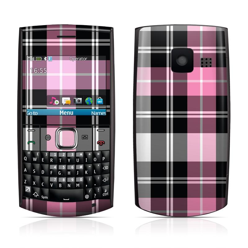 Love Wallpaper Nokia X2 01 : Nokia X2-01 Skin - Pink Plaid DecalGirl