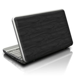 Netbook Skin - Black Woodgrain