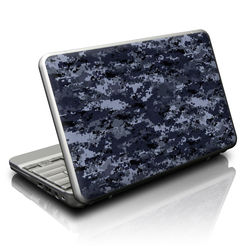 Netbook Skin - Digital Navy Camo