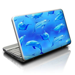 Netbook Skin - Swimming Dolphins
