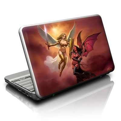 Netbook Skin - Angel vs Demon