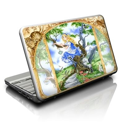 Netbook Skin - Alice's Tea Time