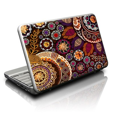 Netbook Skin - Autumn Mehndi
