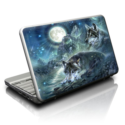 Netbook Skin - Bark At The Moon