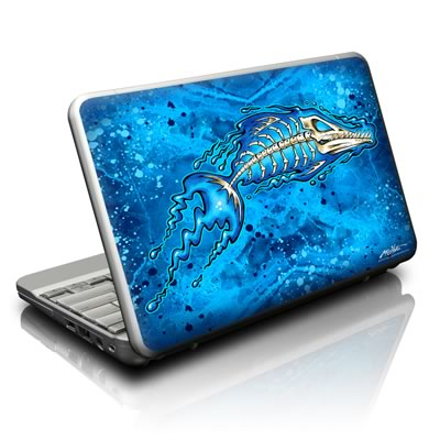Netbook Skin - Barracuda Bones