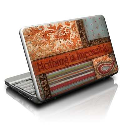 Netbook Skin - Be Inspired