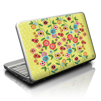 Netbook Skin - Button Flowers