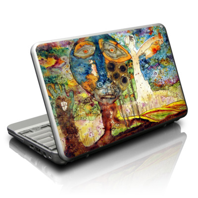 Netbook Skin - Blue Hello
