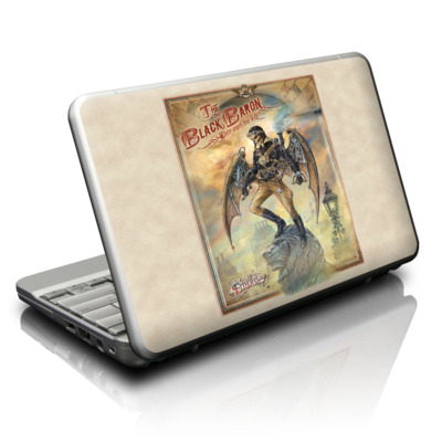 Netbook Skin - The Black Baron