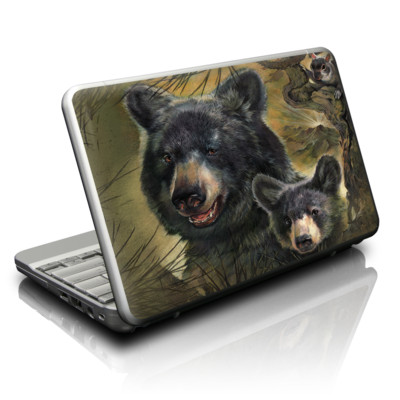 Netbook Skin - Black Bears