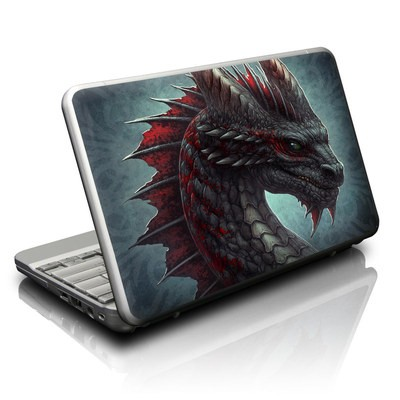 Netbook Skin - Black Dragon