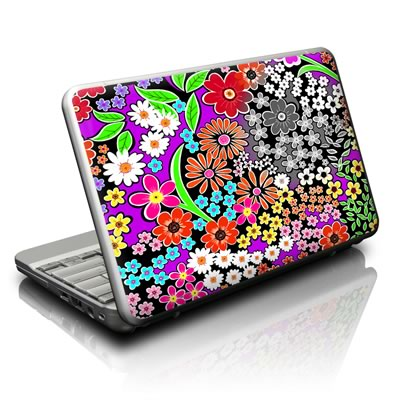 Netbook Skin - A Burst of Color