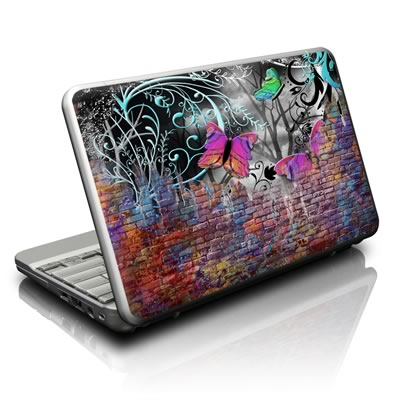 Netbook Skin - Butterfly Wall