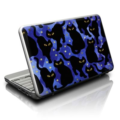 Netbook Skin - Cat Silhouettes