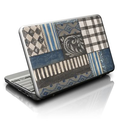 Netbook Skin - Country Chic Blue