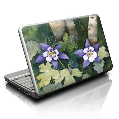 Netbook Skin - Colorado Columbines