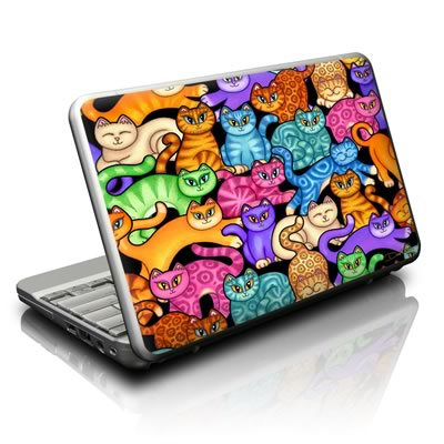 Netbook Skin - Colorful Kittens