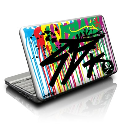 Netbook Skin - Colour Rain