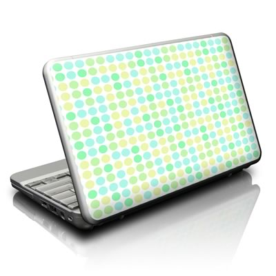 Netbook Skin - Big Dots Mint