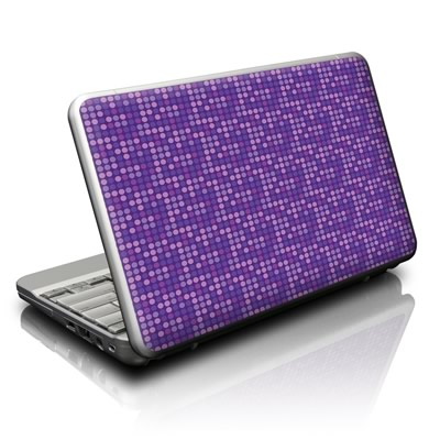 Netbook Skin - Dots Purple