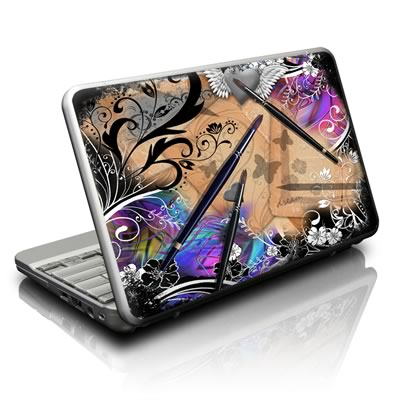 Netbook Skin - Dream Flowers
