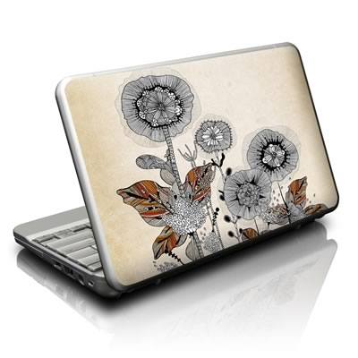 Netbook Skin - Four Flowers