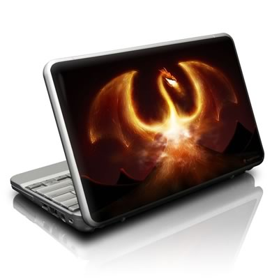 Netbook Skin - Fire Dragon