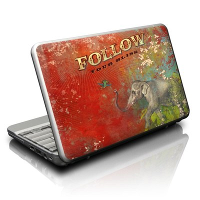 Netbook Skin - Follow Your Bliss