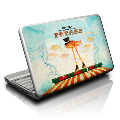 Netbook Skin - God Bless The Freaks
