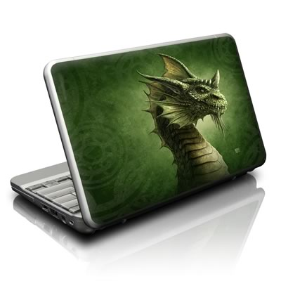 Netbook Skin - Green Dragon