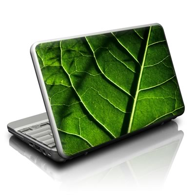 Netbook Skin - Green Leaf