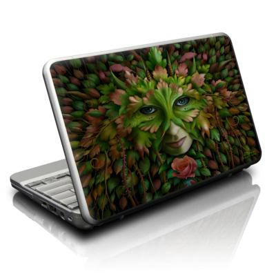 Netbook Skin - Green Woman