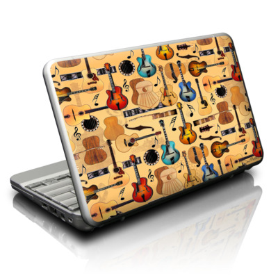 Netbook Skin - Guitar Collage