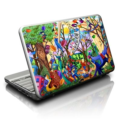 Netbook Skin - Happy Town Celebration